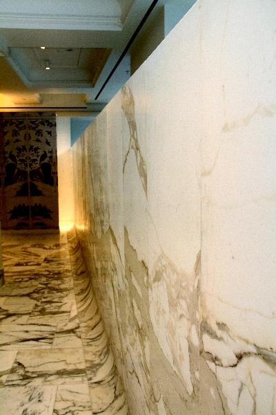 Selfridges Marble Wall
