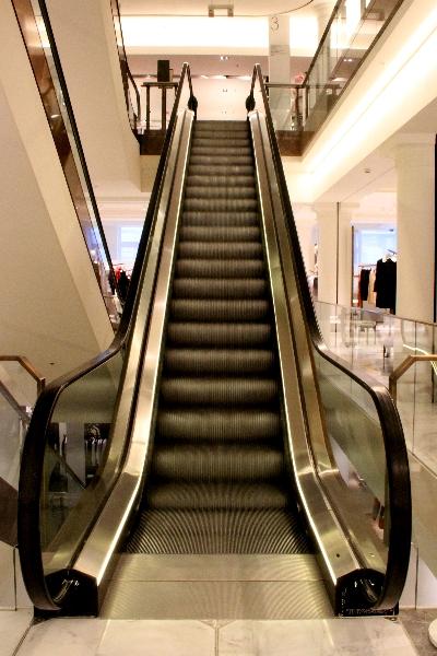 Selfridges Escalator Upgrade