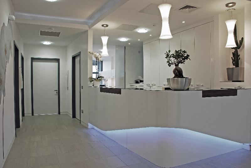 Medical Clinic Reception Area